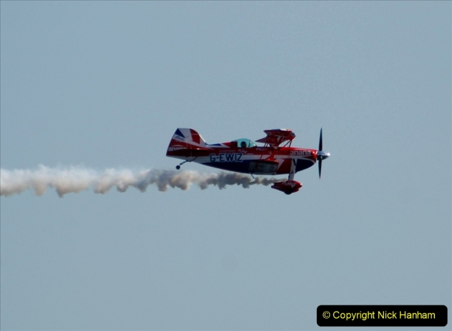 2019-08-30 Bournemouth Air Festival 2019. (245) Super Pitts Muscle Bi-Plane S2S G-EWIZ. 245