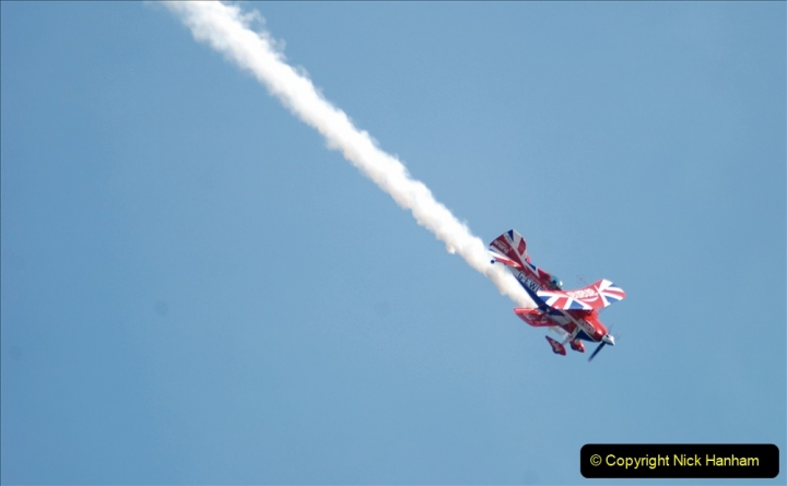 2019-08-30 Bournemouth Air Festival 2019. (252) Super Pitts Muscle Bi-Plane S2S G-EWIZ. 252