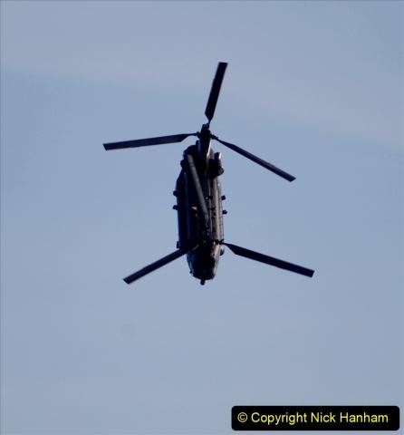2019-08-30 Bournemouth Air Festival 2019. (273) Strikemaster Pair. RAF Chinook HC6A. 273