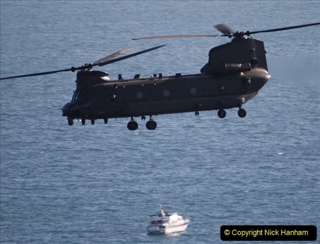 2019-08-30 Bournemouth Air Festival 2019. (294) Strikemaster Pair. RAF Chinook HC6A. 294