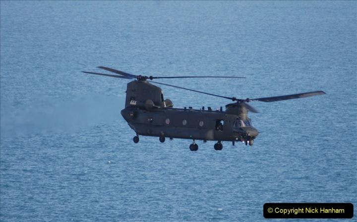 2019-08-30 Bournemouth Air Festival 2019. (299) Strikemaster Pair. RAF Chinook HC6A. 299