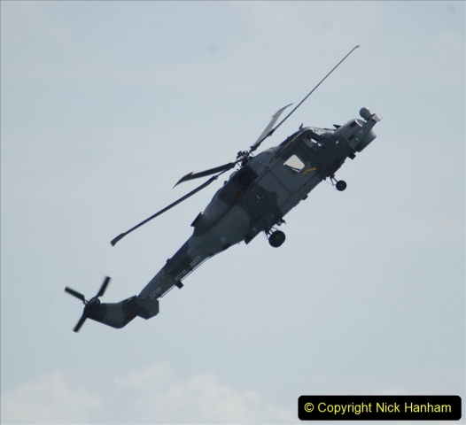 2019-08-30 Bournemouth Air Festival 2019. (64) Royal Navy Wildcat HMA2 Helicopter. 064