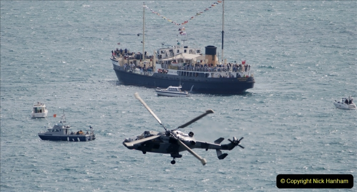 2019-08-30 Bournemouth Air Festival 2019. (66) Royal Navy Wildcat HMA2 Helicopter. 066