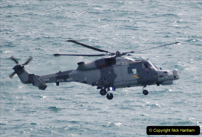 2019-08-30 Bournemouth Air Festival 2019. (67) Royal Navy Wildcat HMA2 Helicopter. 067