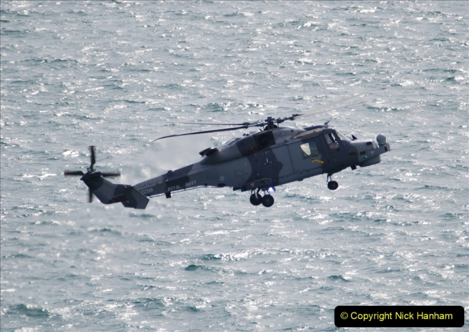 2019-08-30 Bournemouth Air Festival 2019. (68) Royal Navy Wildcat HMA2 Helicopter. 068