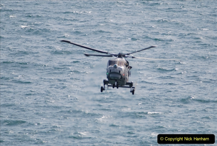 2019-08-30 Bournemouth Air Festival 2019. (70) Royal Navy Wildcat HMA2 Helicopter. 070
