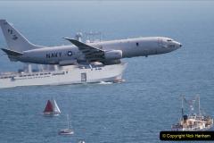 2019-08-30 Bournemouth Air Festival 2019. (157) US Navy P-8A Poseidon Surveillance Aircraft. 158