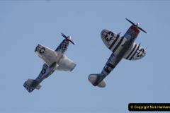 2019-08-30 Bournemouth Air Festival 2019. (170) Warbird Fighters. Spitfire - Mustang - Republic P-47D Thunderbolt - Hispano Buchon. 170