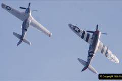 2019-08-30 Bournemouth Air Festival 2019. (172) Warbird Fighters. Spitfire - Mustang - Republic P-47D Thunderbolt - Hispano Buchon. 172