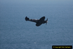 2019-08-30 Bournemouth Air Festival 2019. (192) Warbird Fighters. Spitfire - Mustang - Republic P-47D Thunderbolt - Hispano Buchon. 192