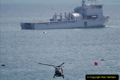 2019-08-30 Bournemouth Air Festival 2019. (73) Royal Navy Wildcat HMA2 Helicopter. 073