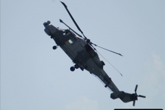 2019-08-30 Bournemouth Air Festival 2019. (75) Royal Navy Wildcat HMA2 Helicopter. 075