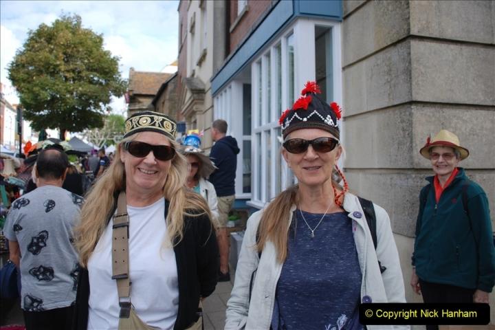 2019-09-07 Bridport Hat Festival. (167) 167
