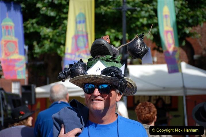 2019-09-07 Bridport Hat Festival. (208) 208