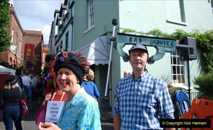 2019-09-07 Bridport Hat Festival. (209) 209
