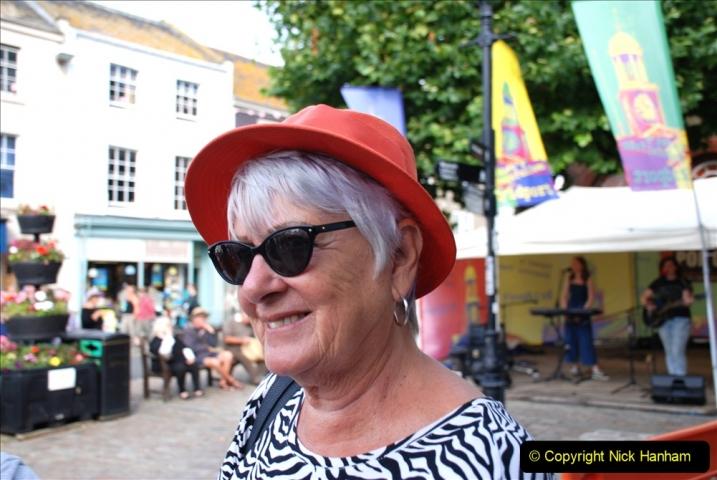 2019-09-07 Bridport Hat Festival. (216) 216