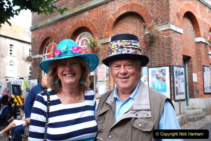 2019-09-07 Bridport Hat Festival. (222) 222