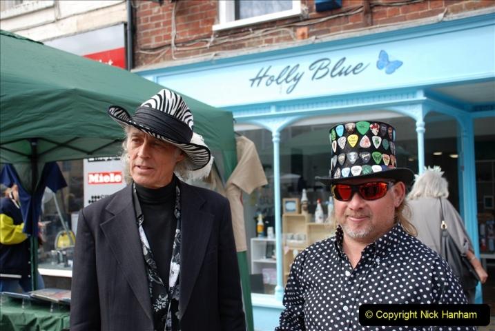 2019-09-07 Bridport Hat Festival. (234) 234