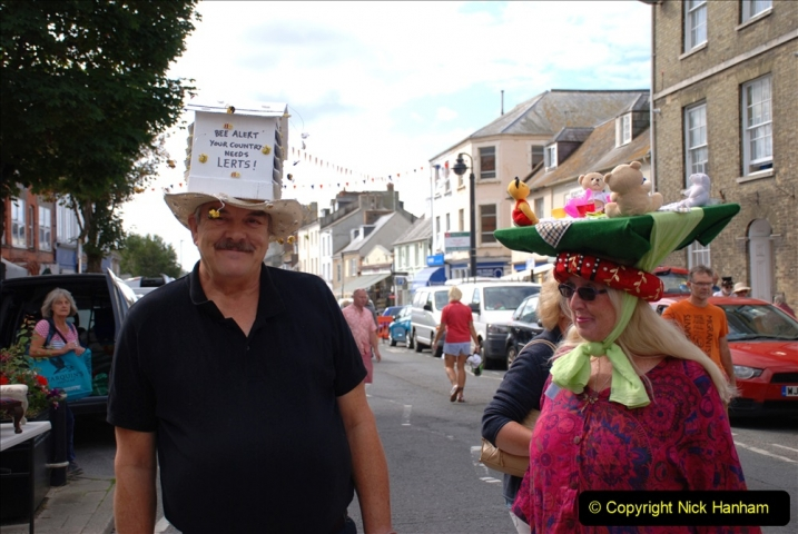2019-09-07 Bridport Hat Festival. (238) 238