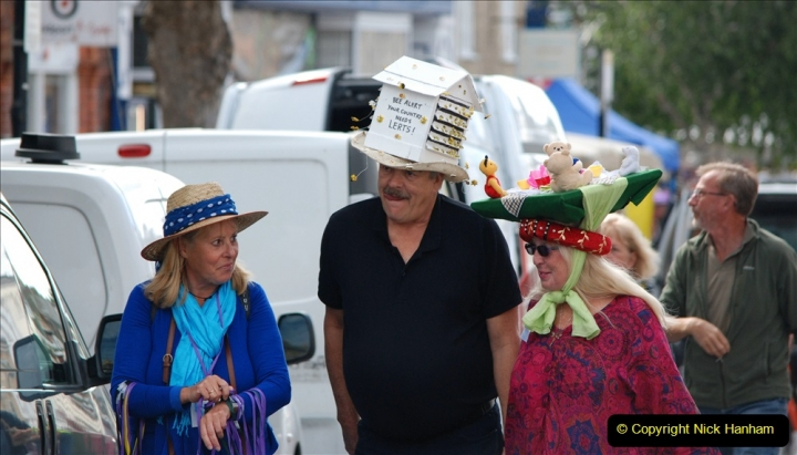 2019-09-07 Bridport Hat Festival. (255) 255