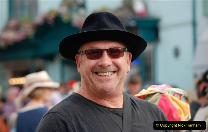 2019-09-07 Bridport Hat Festival. (268) 268