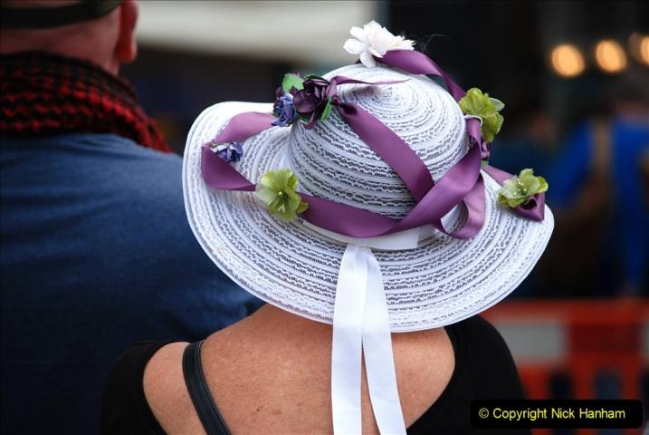 2019-09-07 Bridport Hat Festival. (270) 270