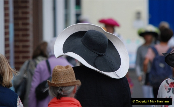 2019-09-07 Bridport Hat Festival. (278) 278