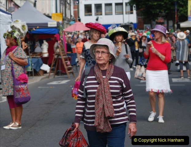 2019-09-07 Bridport Hat Festival. (310) 310