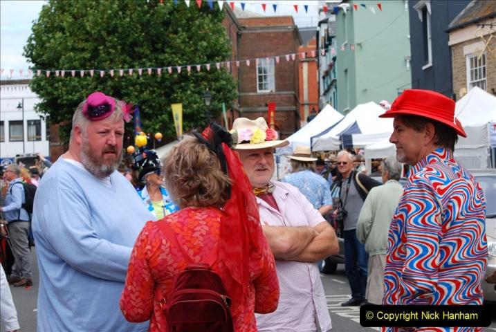2019-09-07 Bridport Hat Festival. (312) 312