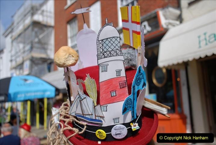 2019-09-07 Bridport Hat Festival. (319) 319