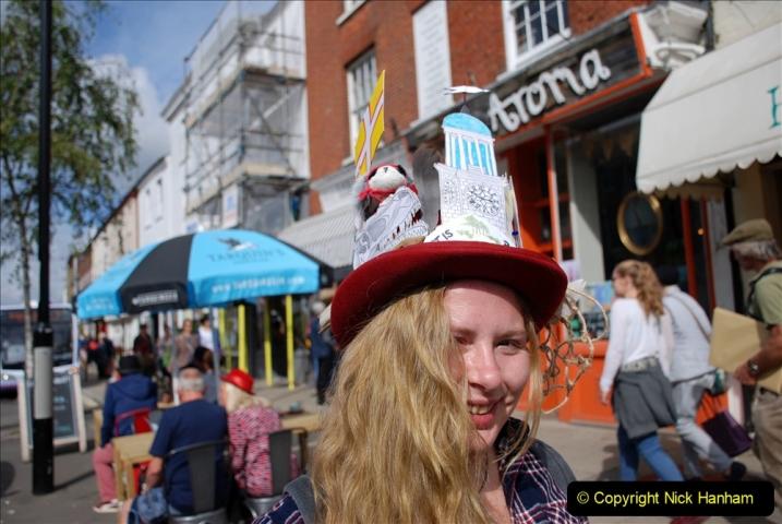 2019-09-07 Bridport Hat Festival. (321) 321
