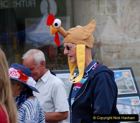 2019-09-07 Bridport Hat Festival. (330) 330