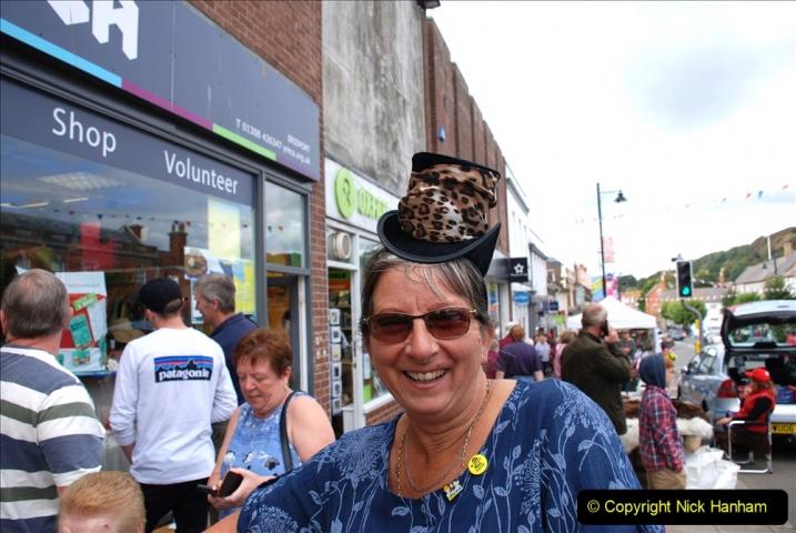2019-09-07 Bridport Hat Festival. (336) 336