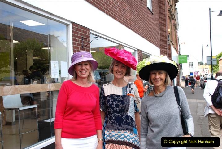 2019-09-07 Bridport Hat Festival. (347) 347