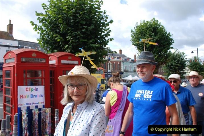 2019-09-07 Bridport Hat Festival. (354) 354