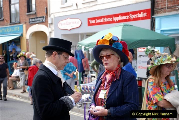 2019-09-07 Bridport Hat Festival. (367) 367