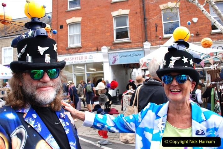 2019-09-07 Bridport Hat Festival. (379) 379