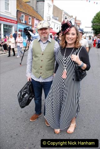 2019-09-07 Bridport Hat Festival. (380) 380