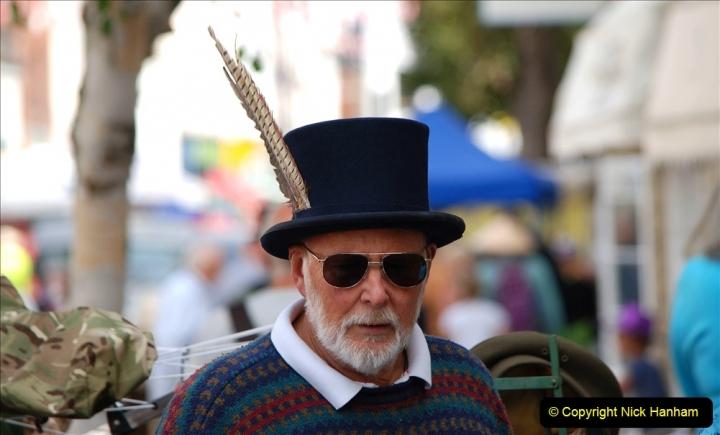 2019-09-07 Bridport Hat Festival. (87) 087