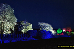2019-12 20 Kingston Lacy (NT) Wimborne, Dorset Christmas Lights. (71) 071