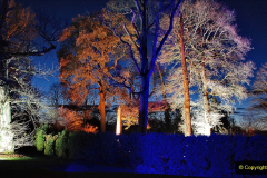 2019-12 20 Kingston Lacy (NT) Wimborne, Dorset Christmas Lights. (73) 073