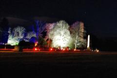 2019-12 20 Kingston Lacy (NT) Wimborne, Dorset Christmas Lights. (96) 096