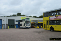 2019-07-21 Yellow Buses depot on Canford Heath, Poole, Dorset. (1) 103