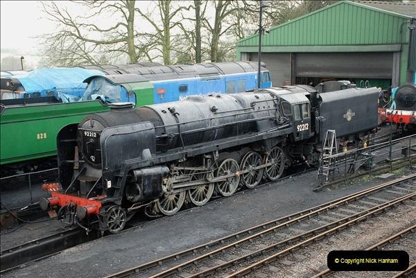 2019-02-06 Mid Hants Railway at Ropley. (15) 015