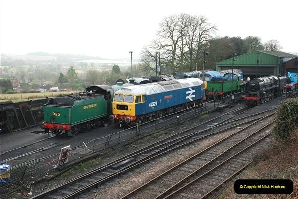 2019-02-06 Mid Hants Railway at Ropley. (17) 017