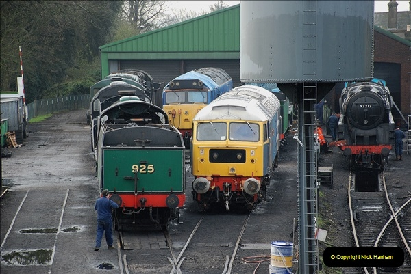2019-02-06 Mid Hants Railway at Ropley. (19) 019