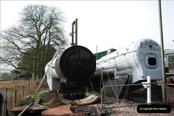 2019-02-06 Mid Hants Railway at Ropley. (20) 020