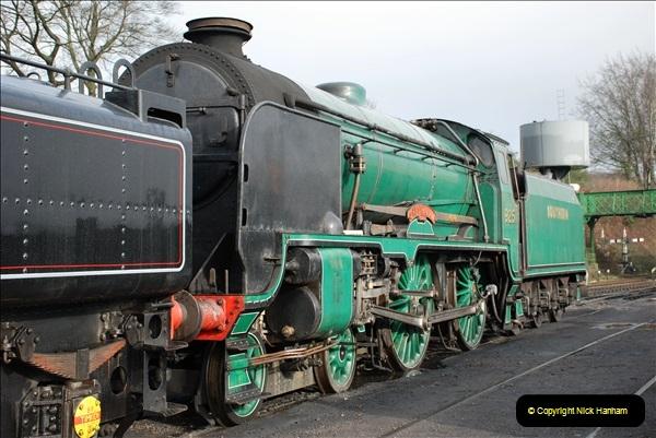 2019-02-06 Mid Hants Railway at Ropley. (22) 022