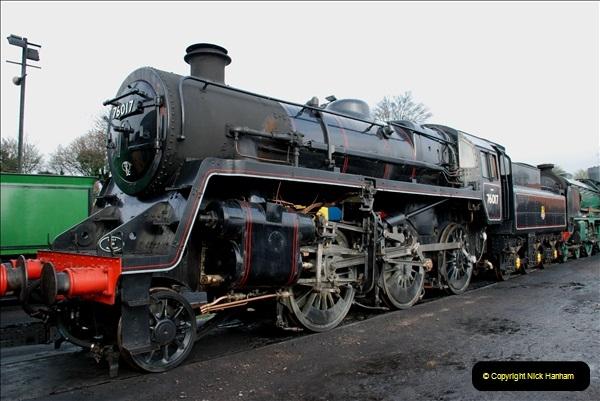 2019-02-06 Mid Hants Railway at Ropley. (25) 025