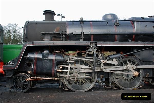 2019-02-06 Mid Hants Railway at Ropley. (26) 026